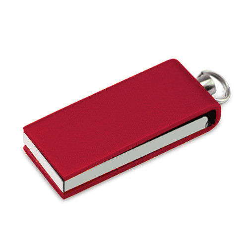 Mini USB stick Litra,  rood