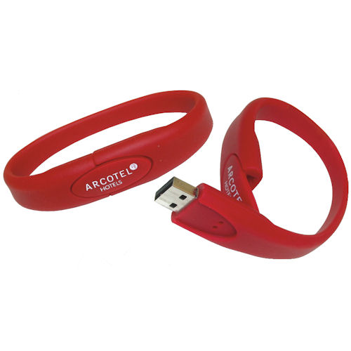 USB stick Armband, rood