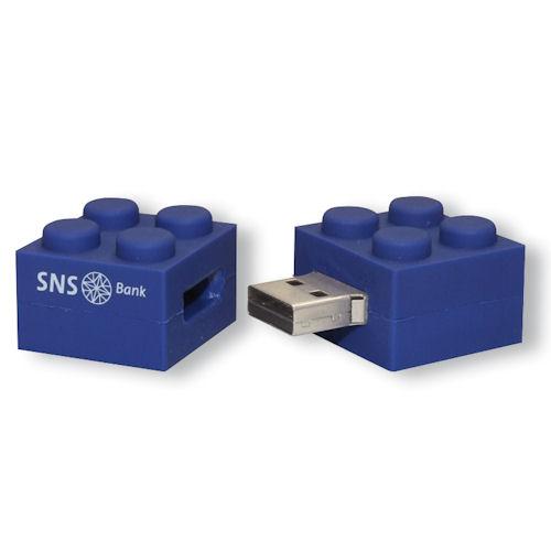 USB stick Bouwsteen, eigen PMS